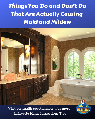 Things You Do and Don't Do That Are Actually Causing Mold and Mildew