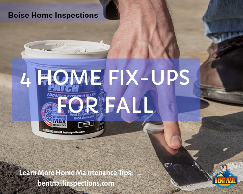 4 Home Fix-Ups For Fall
